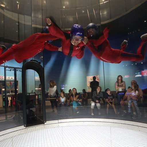 Indoor-Skydiving